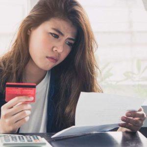 クレジットカードの請求額が払えない