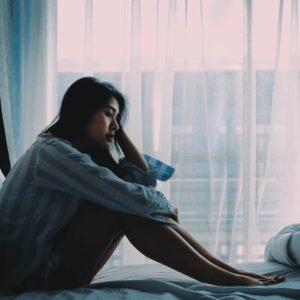 憂鬱な女性