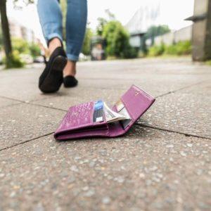 落とした財布