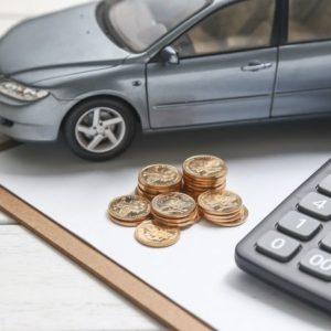 車とお金と計算機
